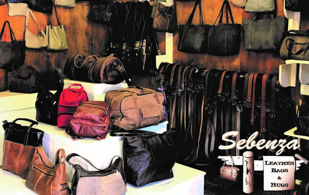 Sebenza Leather Feature Image and Logo